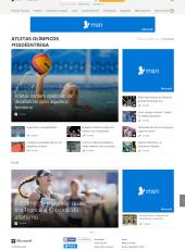 MSN/Correios/Atletas Olímpicos